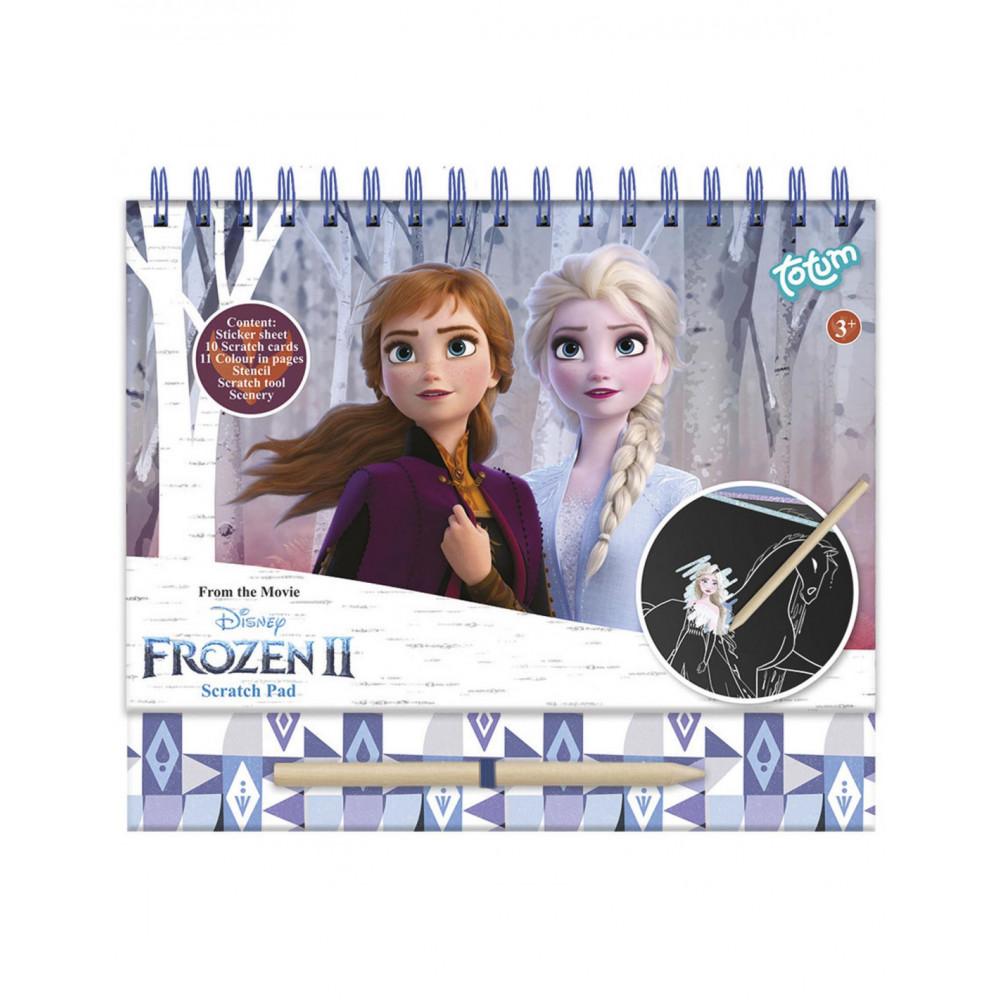Totum Disney Frozen - Scratchboek