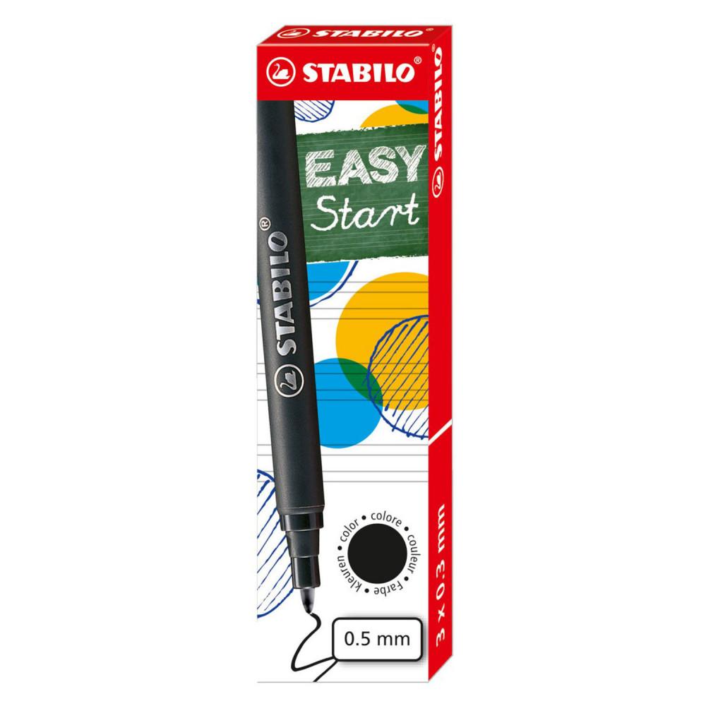 STABILO EASYoriginal 3 Navullingen Medium - Zwart