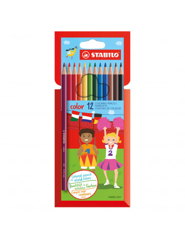 STABILO Color - 12 Kleuren