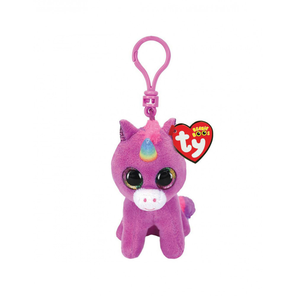 Ty Beanie Boo's Clip Rosette Unicorn 7cm