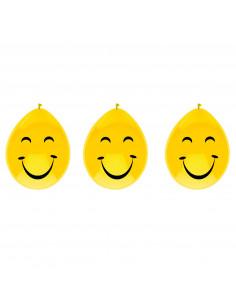 Ballonnen lachgezicht, 6st.