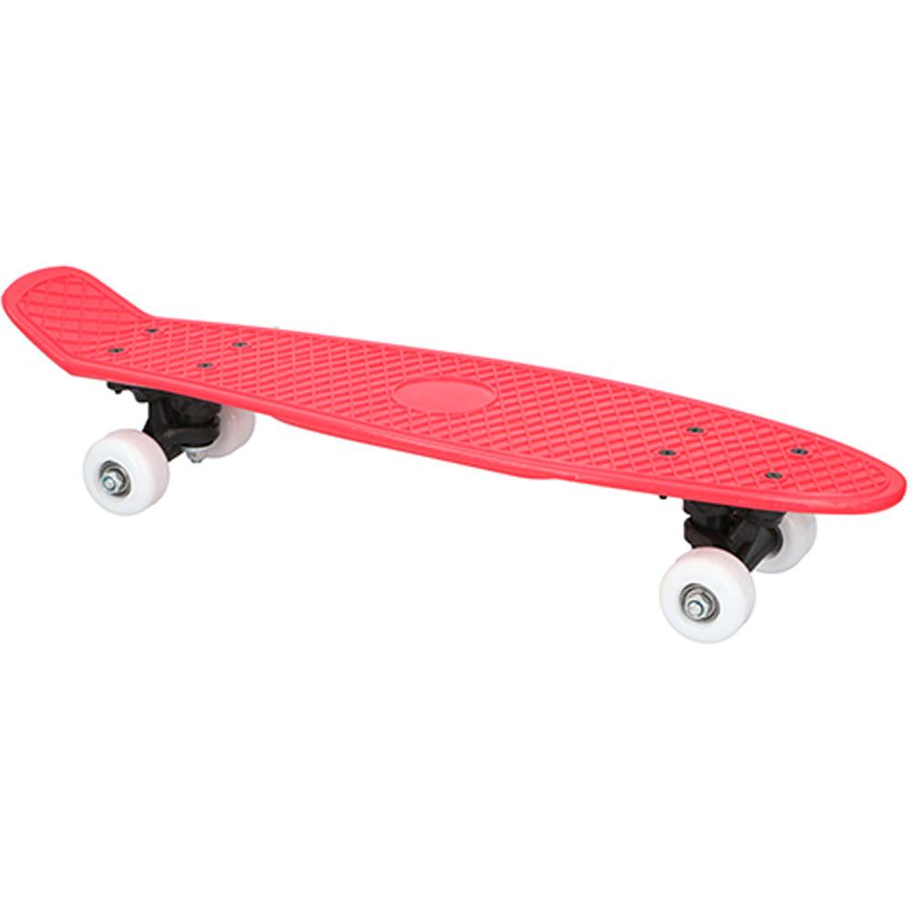 Skateboard 57cm Rood