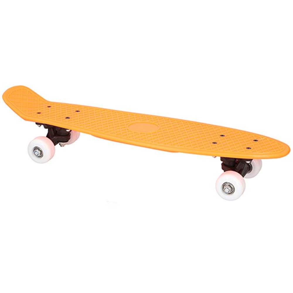 Skateboard 57cm Oranje