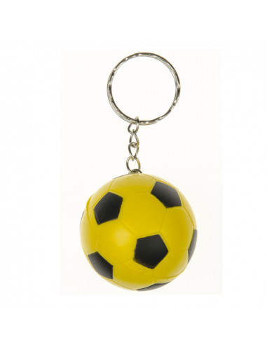 Sleutelhanger Voetbal Gekleurd Soft