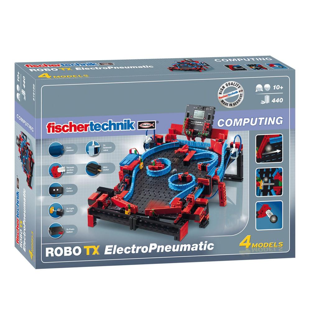 Fischertechnik Robotics - Robo TX ElectroPneumatic, 440dlg.