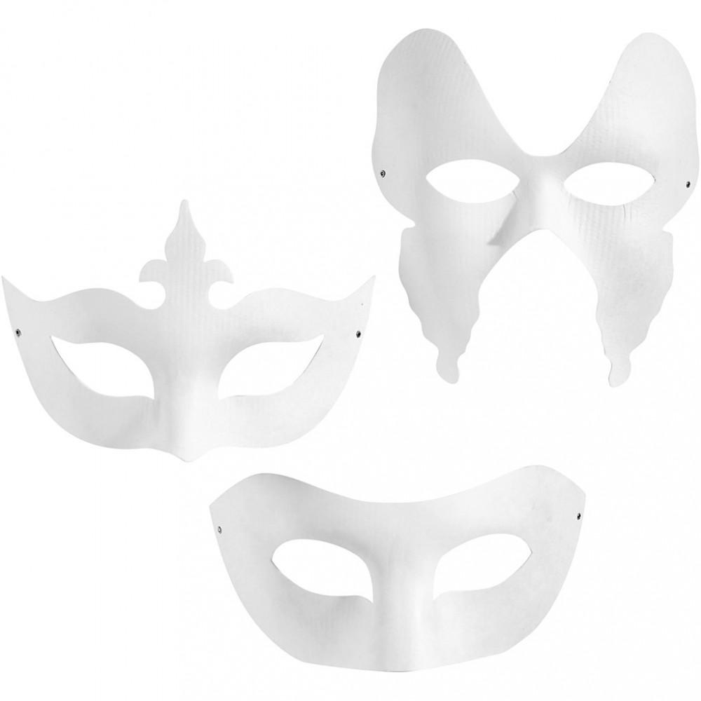 Maskers Wit 3st.