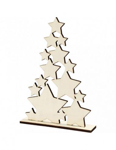 Houten Kerstboom