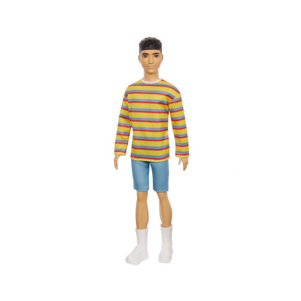 Barbie Ken Fashionista Pop - Gestreept Shirtje & Broek
