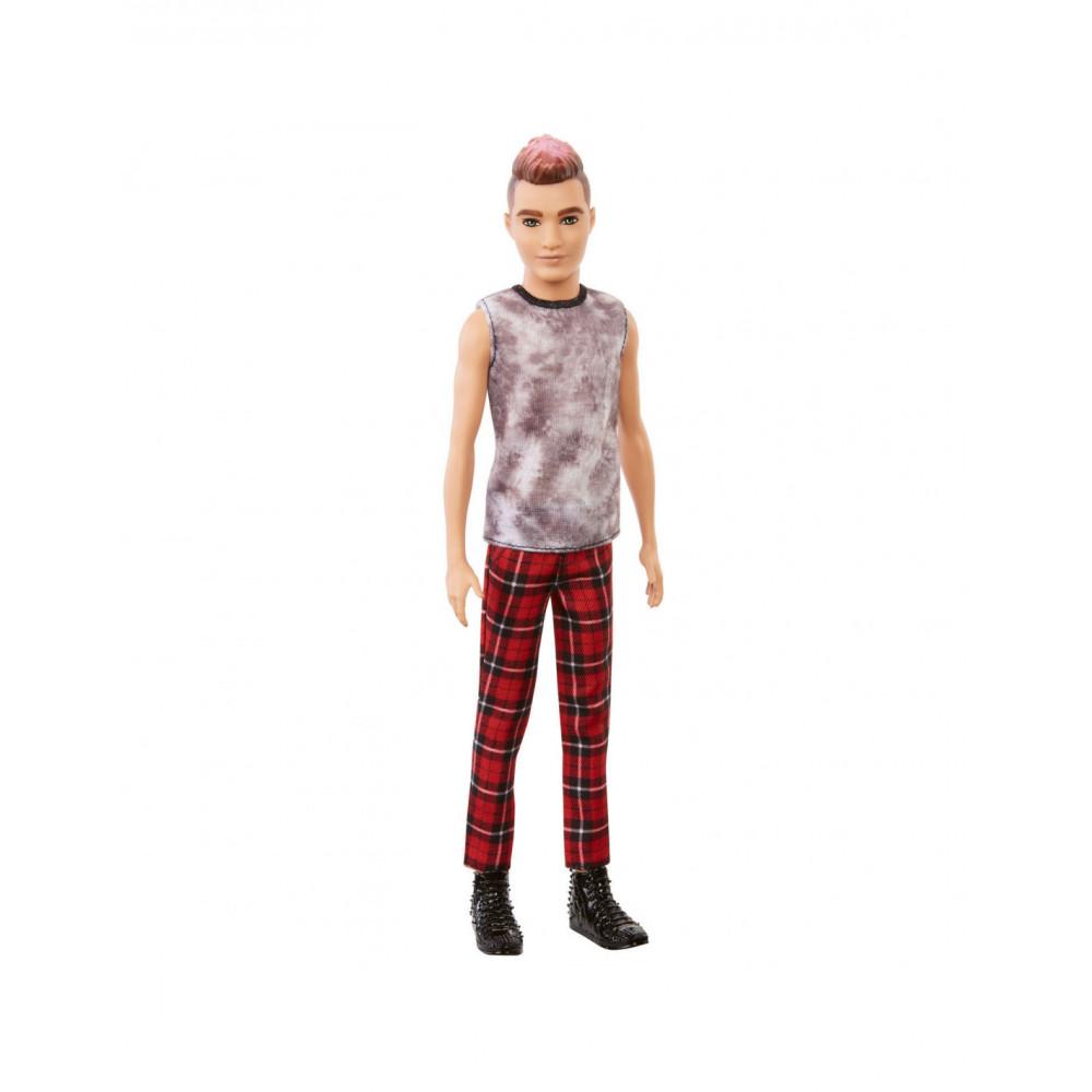 Barbie Ken Fashionista Pop - Geruitje Broek & Shirtje