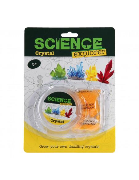 Science Explorer Kristal Maken