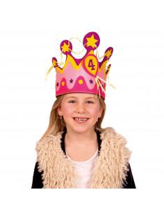 Kroon Stof Leeftijden 1-5 Meisje