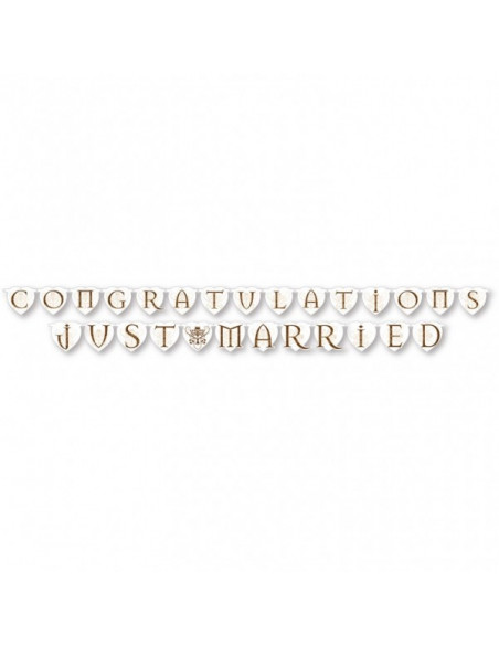 Just Married Banner 2st.