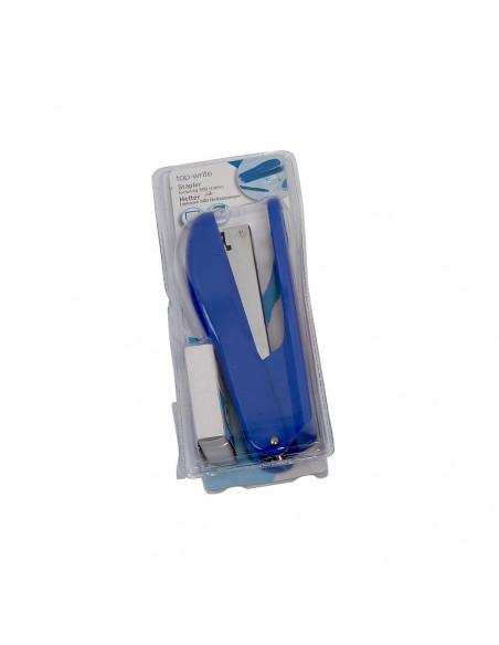 Nietmachine + 500 nietjes Blauw