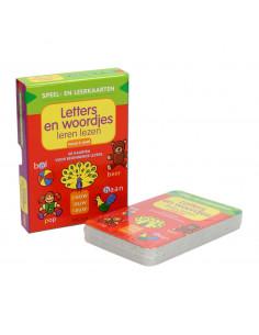 Speel- en Leerkaarten - Letters en Woordjes Leren Lezen (5+)