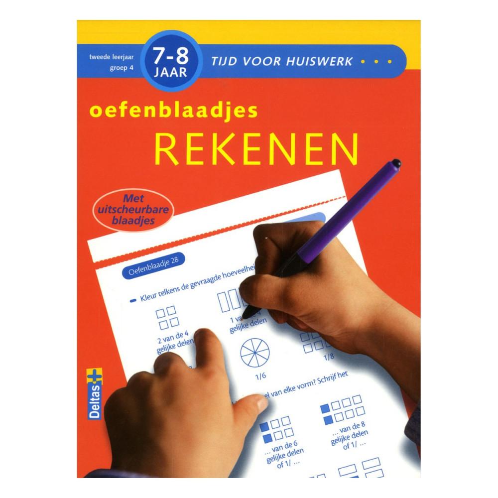 Oefenblaadjes  Rekenen (7-8 J.)