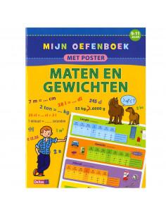 Mijn Oefenboek Met Poster: Maten En Gewichten