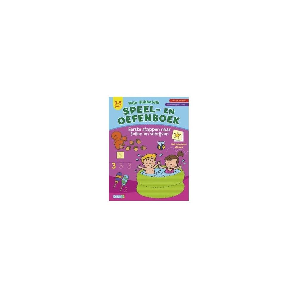 Mijn dubbeldik speel- en oefenboek (3-5 j.) - tellen en schr