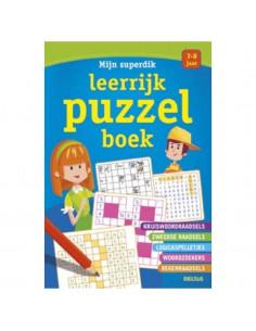 Mijn superdik leerrijk puzzelboek (7-9 j.)