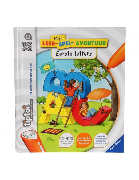Tiptoi Boek Mijn Leerspel Avontuur - Eerste Letters