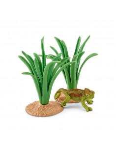 Schleich Kameleon in Riet