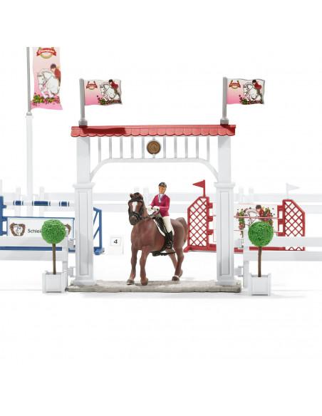 Schleich Groot Wedstrijdtoernooi met Paarden
