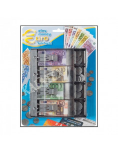 Speelgeld Kassalade Euro 87-delig