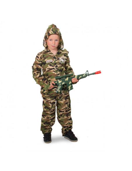 Verkleedset Camouflage Scherpschutter - L