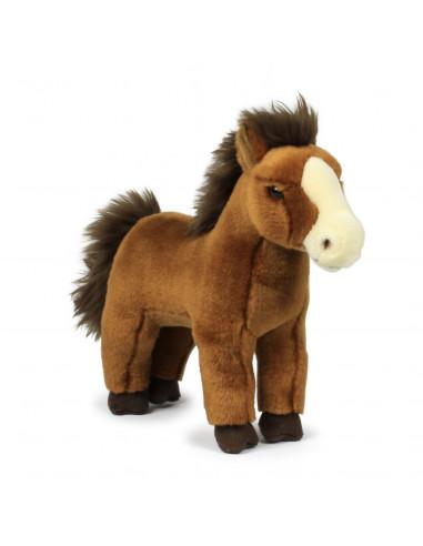 WNF Pluche - Bruin Paard, 23cm