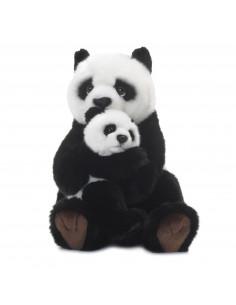 WNF Pluche - Panda met Baby, 28cm