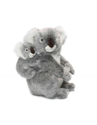WNF Pluche - Koala met Baby, 28cm