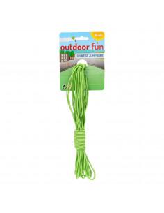 Elastiekenspel 10 meter - Groen