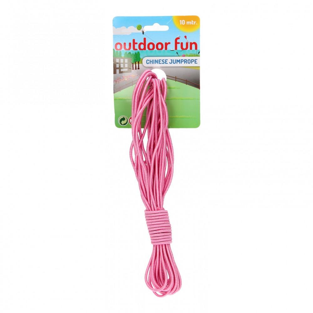 Elastiekenspel 10 meter - Roze BT