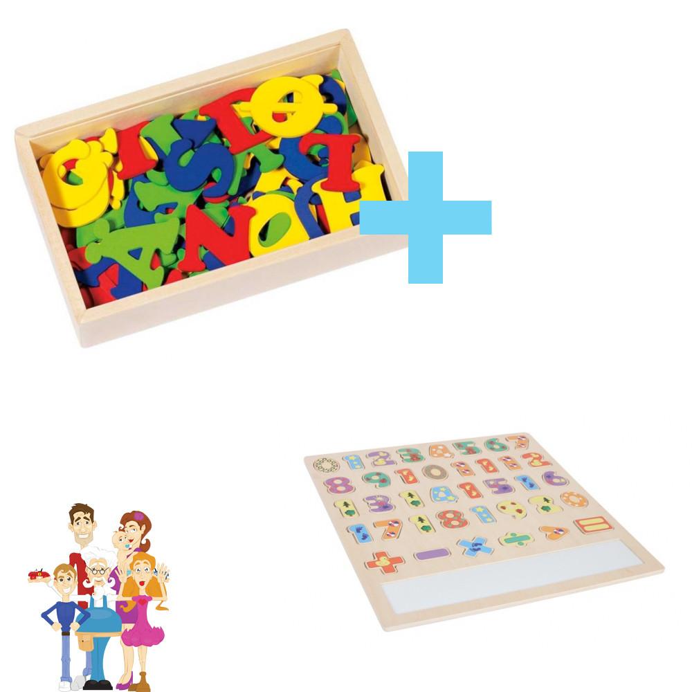 Base Toys 102 letters en insteekpuzzel rekenen