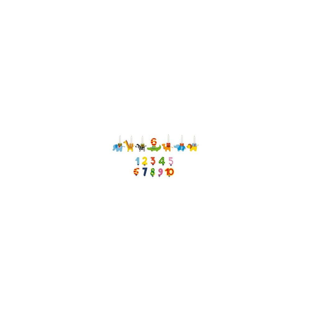 Goki Houten Verjaardagsparade dieren